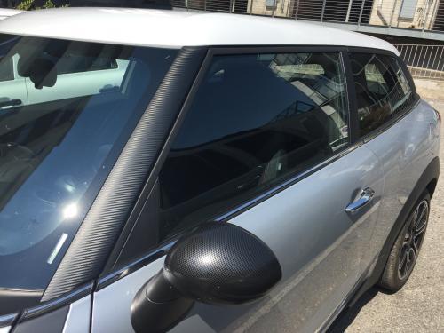Car Wrapping dettaglio mini giorgio 1