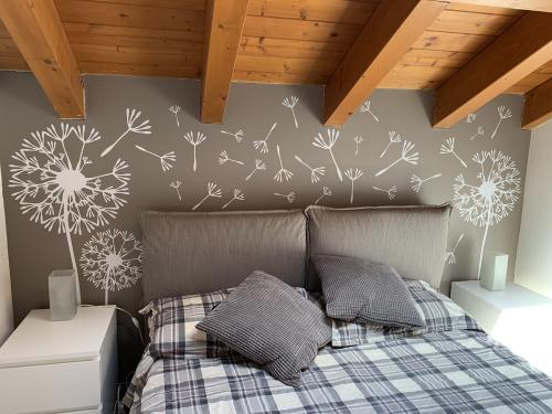 Interior design murofania decorazione camera 1