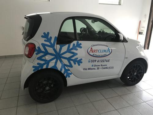 Decorazione auto smart Artclima Leano 3