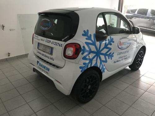 Decorazione auto smart Artclima Leano 4