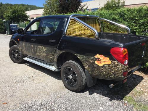 Decorazione automezzi pickup Eden Garden