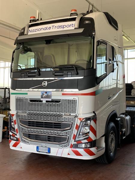 Decorazione camion Nazionale trasporti 1