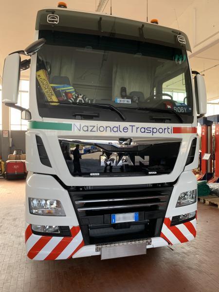 Decorazione camion Nazionale trasporti 12