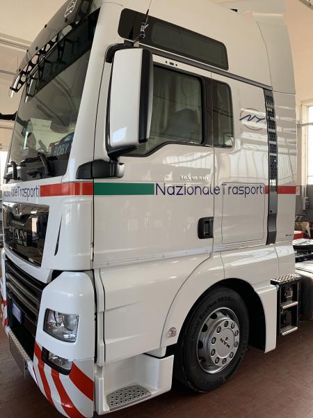 Decorazione camion Nazionale trasporti 13