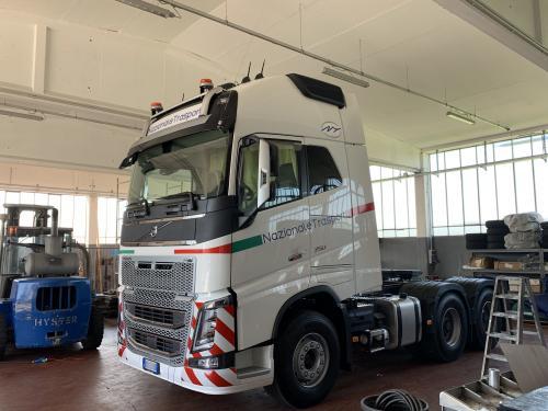 Decorazione camion Nazionale trasporti 2