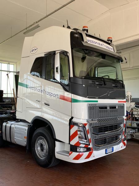 Decorazione camion Nazionale trasporti 3
