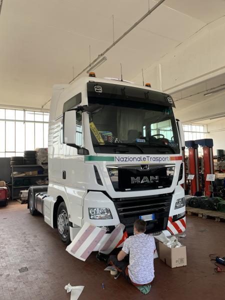 Decorazione camion Nazionale trasporti 8