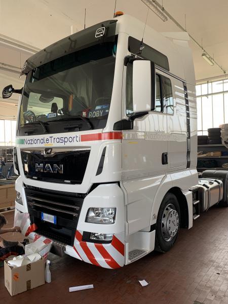 Decorazione camion Nazionale trasporti 9