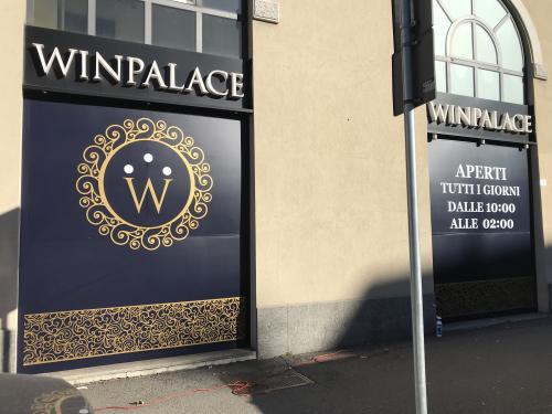 Insegna e vetrofania WinPalace 4