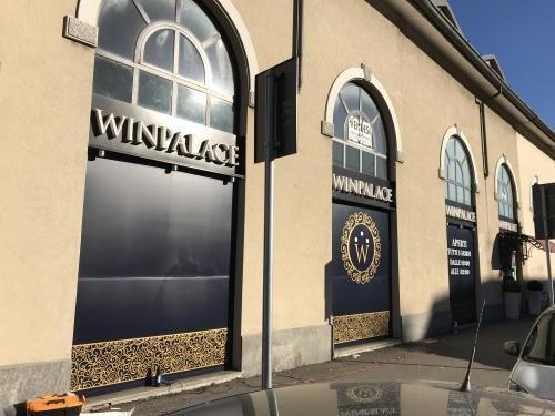 Insegna e vetrofania WinPalace 5