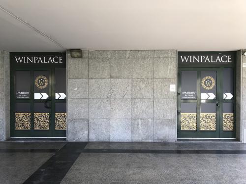 Insegna e vetrofania WinPalace 6