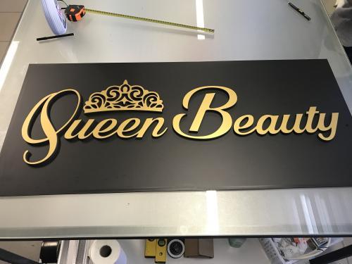 Insegna pannello e sagomato Quuen Beauty 1