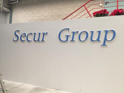 Interior Design Murofania pantografata Secur Group 1