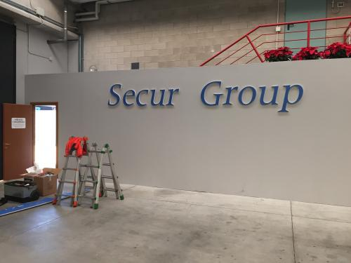 Interior Design Murofania pantografata Secur Group 3