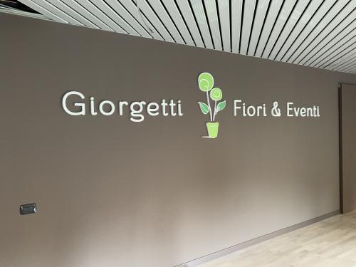 Interior design Murofania pantografata Giorgetti fiori 2