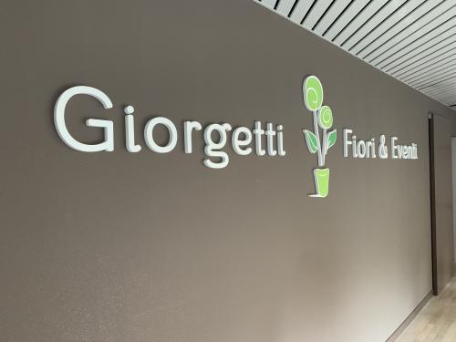 Interior design Murofania pantografata Giorgetti fiori 3