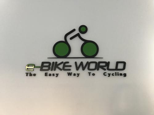 Interior design Murofania pantografata rilievo E-bike 1