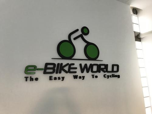Interior design Murofania pantografata rilievo E-bike 2