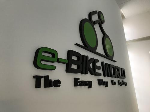 Interior design Murofania pantografata rilievo E-bike 3