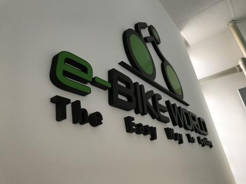 Interior design Murofania pantografata rilievo E-bike 4