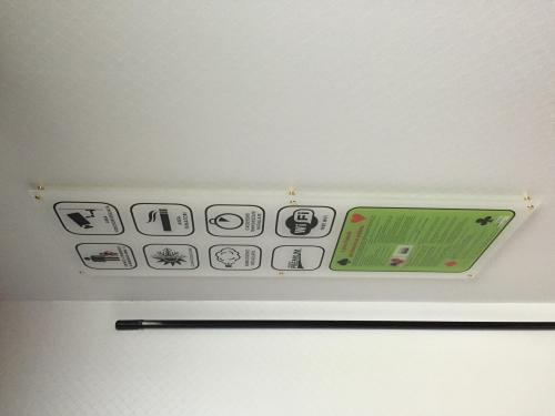 Interior design pannello in plexiglass touch game 2