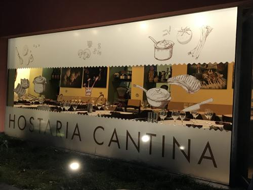 Vetrofania satinata Cascina Costa 2