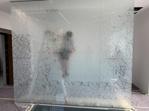 Interior design vetrofania uffici 4