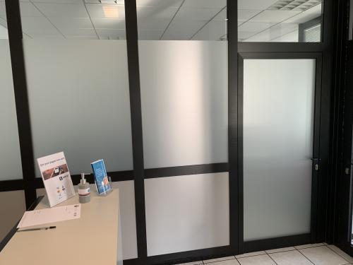 Interior design vetrofania uffici 5